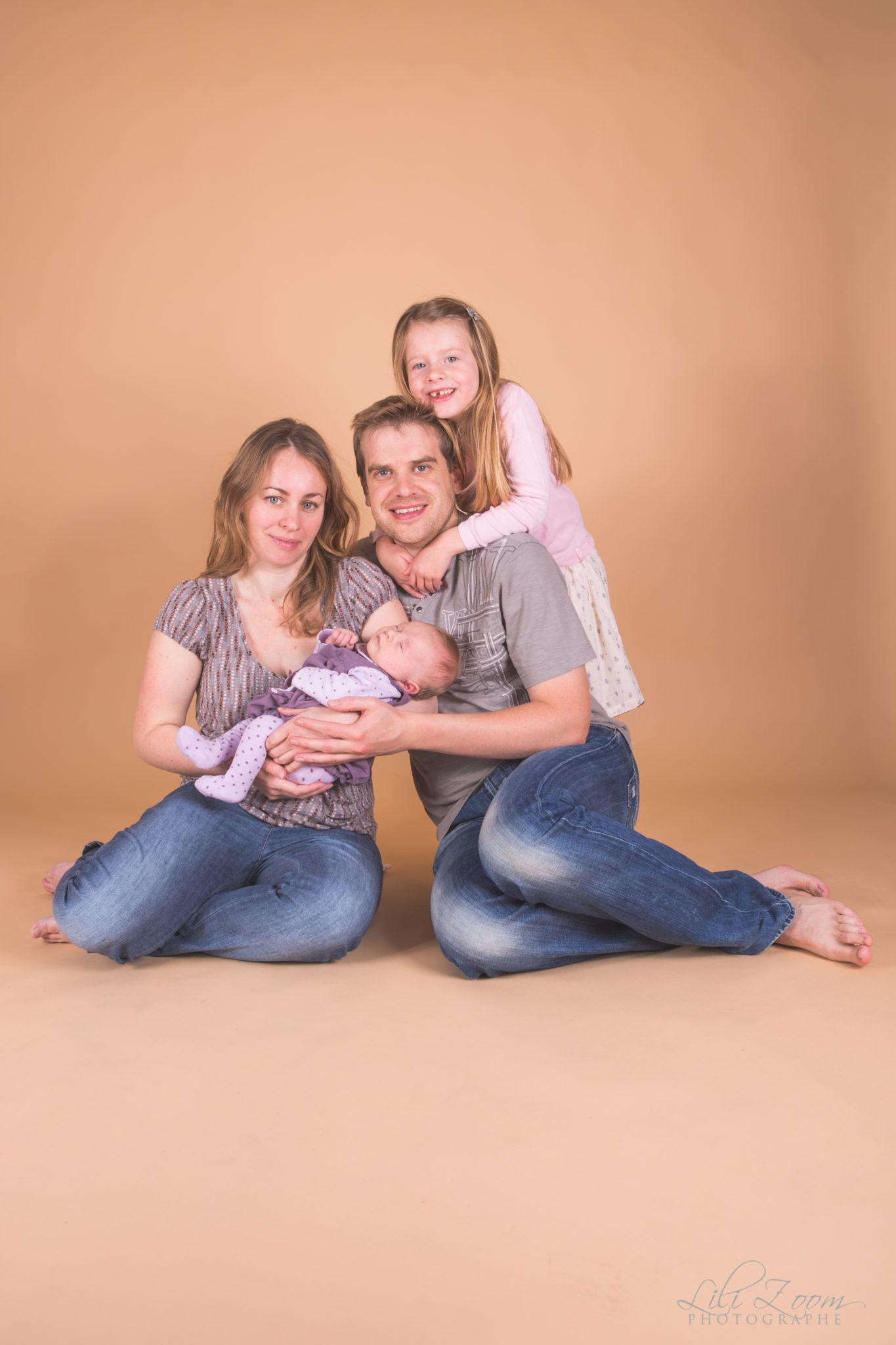 photo famille Caen Normandie